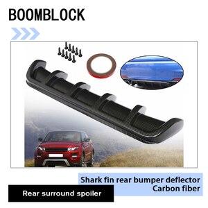 Авто задний бампер шасси Акула дефлектор наклейки для BMW E36 E46 E90 E39 E30 F30 F10 F20 X5 E53 E70 E87 E34 аксессуары