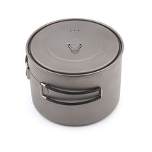 TOAKS POT-1600 Titanium Pot Outdoor Camping pot with Lid