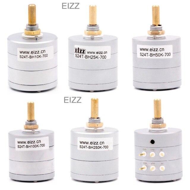 Eizz 24 компл. 10 к 50 к 100 к 250 к HiFi частичное давление шаговый высококлассный потенциометр