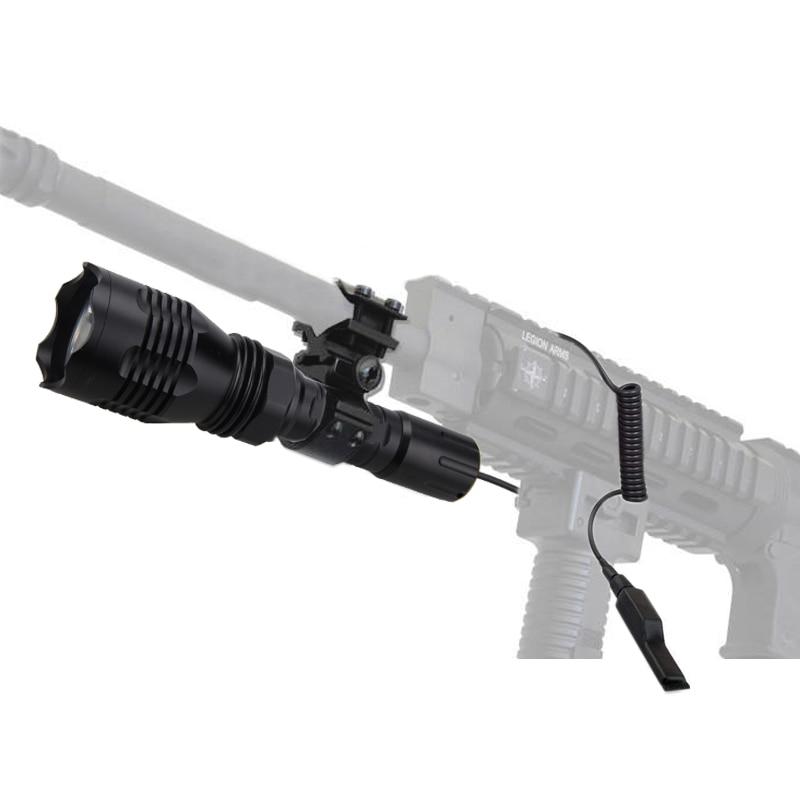 verde vermelho branco caça lanterna + rifle