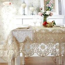Proud Rose европейская роскошная скатерть с кружевами и пряжей для чайного стола, покрытие для дивана, полотенца, украшение дома, для телевизора, шкафа, прямоугольные скатерти