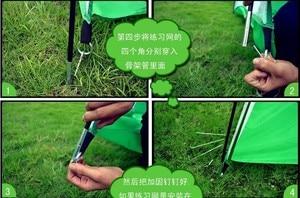 Image 5 - Per adulti 3 m x 2 m Esercizi di pratica di Golf pratica netto gabbia Golf attrezzi e prodotti per traininng accessori per il Golf