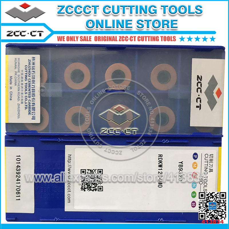 ZCCCT cutting tool cnc milling inserts lathe tools cutter plate 1 pack