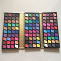 Embreagem Brilho Shimmer Professional 120 Full Color Eyeshadow Makeup Palette Sombra pigmento Mineral Cosméticos Make Up Set Kit