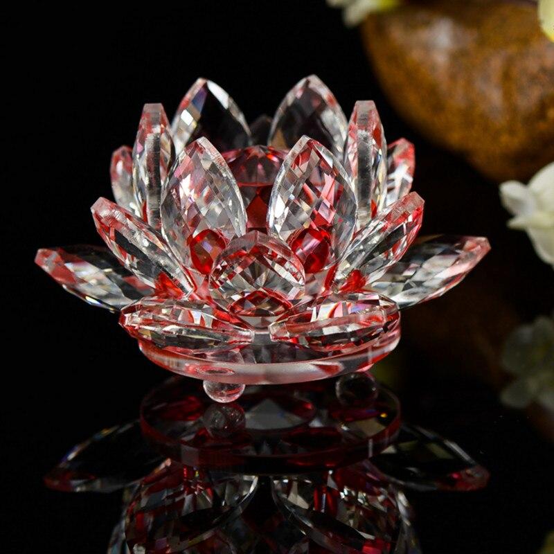 Crystal Lotus Figurine 4