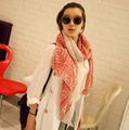 Fashion High Quality Ancient Folk Style Circle Lattice Scarf Shawl Cotton Women's Scarves,wholesale Price!