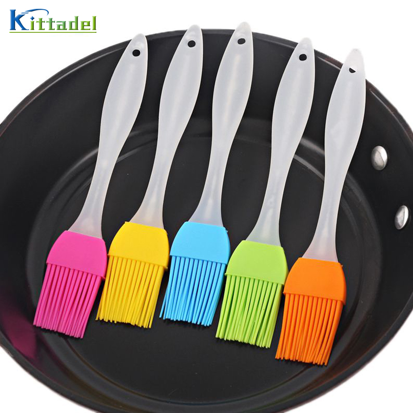 Silicone Oil Brush Barbecue Brush Kitchen BBQ Baking Cooking Spread Oil Butter