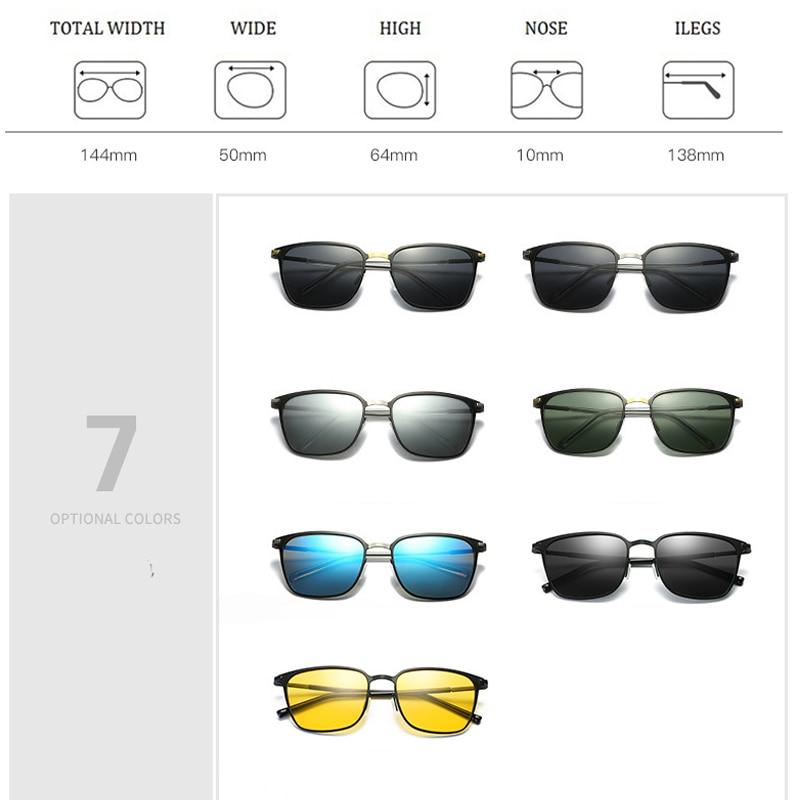 5522f41733 (HOT PROMO) SIMPRECT 2019 Gafas De Sol Para Hombres, Gafas De Conducir  Cuadrado Gafas De Sol UV400 De Marca De Alta Calidad, Diseño Retro Lunette  Soleil ...
