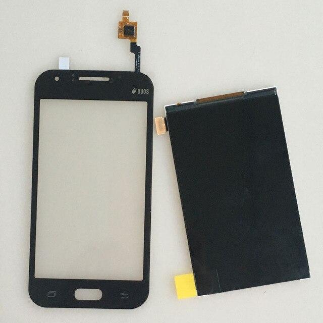 Para preto samsung galaxy j1 sm j100 toque digitador da tela + display lcd relacement