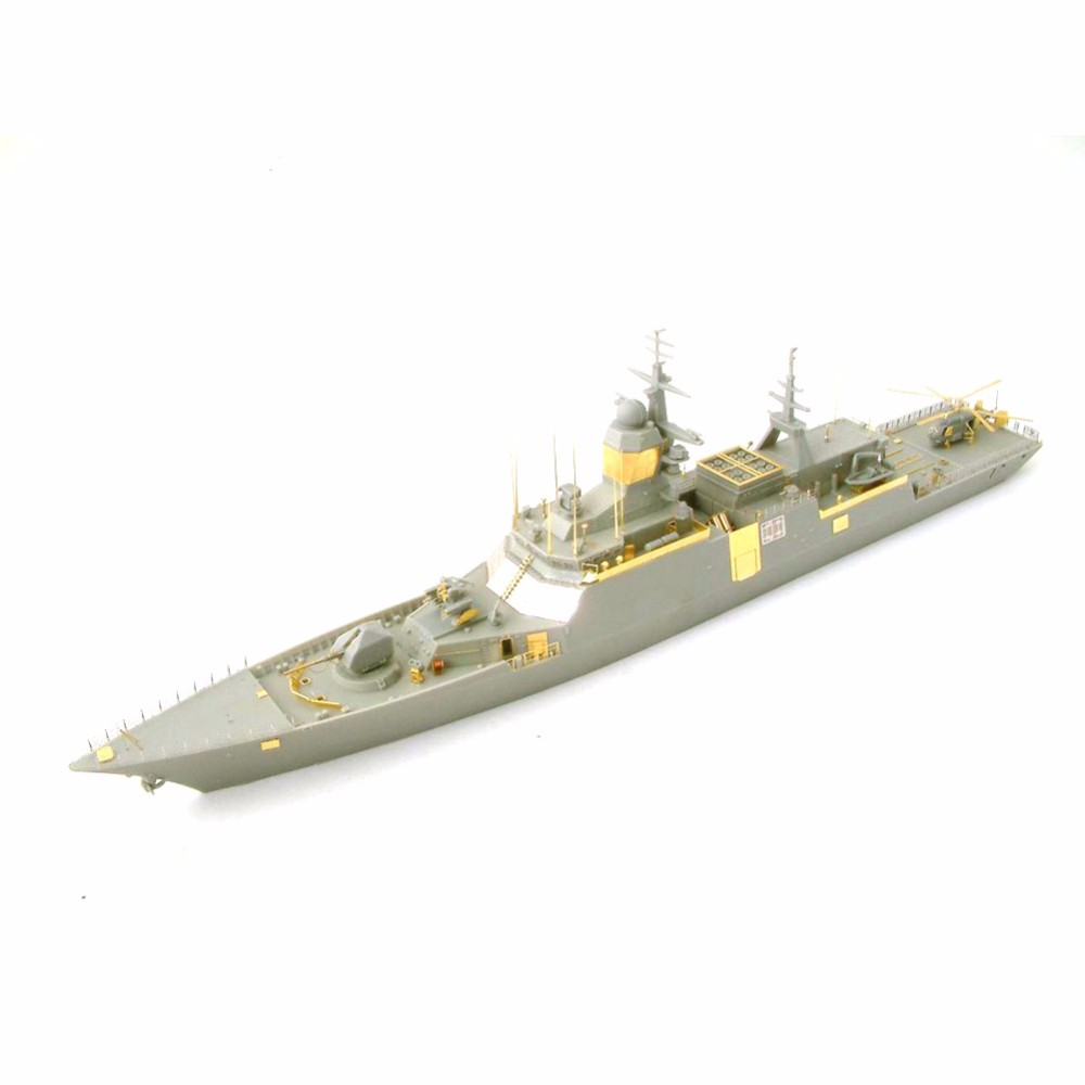 OHS Orange Hobby N03040320 1/350 Russian Corvette Steregushchy Hull No530 Assembly Scale Military Ship Model Building Kits ohs tamiya 60102 1 35 tyrannosaurus diorama set assembly scale dinosaur model building kits