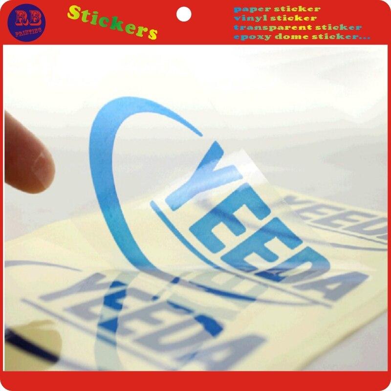Impressão do design da etiqueta do papel de 4cm