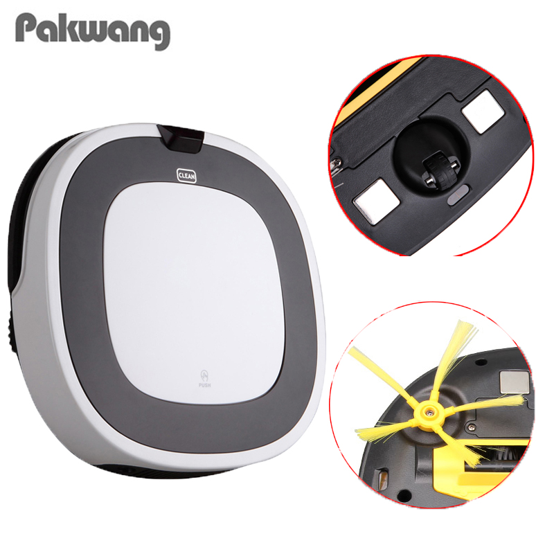 2018 PAKWANG D5501 Lower Noise Big Mop With Water Tank 180ML Robot Vacuum Cleaner,100% Anti Falling Robot Vacuum Cleaner стоимость