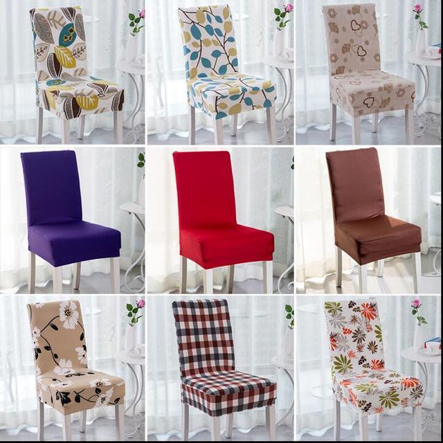 2017 New Style Home Decor Capas De Cadeira Spandex Estilo Floral Decoração  Home U0026 Hotel Tampas