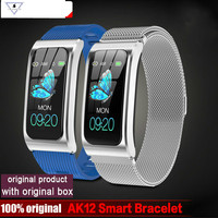 2019 New Ak12 Smart Bracelet Color Screen Ip68 Waterproof Women's Watch Heart Rate Monitor Cycle Activity Monitor Sports Band