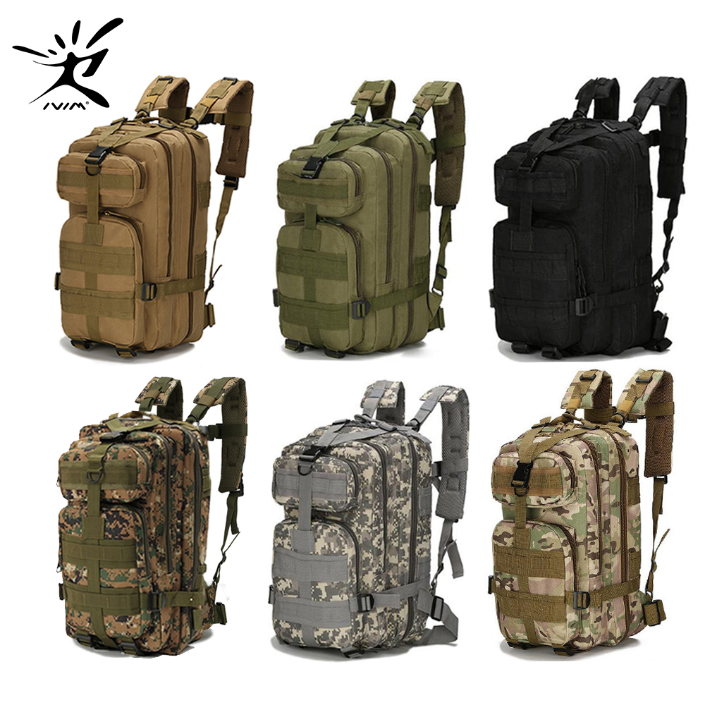 1000D Nylon 28L Waterproof Tactical Backpack Outdoor Military Backpack Tactical Bag Sport Camping Hiking Fishing Hunting