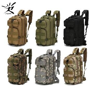 1000D Nylon Zaino Tattico Zaino Militare Esercito Impermeabile Zaino Sacchetto di Sport Esterni di Campeggio Trekking Pesca Caccia 28L