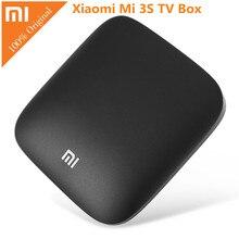 Original Xiaomi mi TV BOX 3 S Android 6.0 2G RAM 8G Inteligente 4 K Set-top Box Quad Core Amlogic S905X Netflix Dolby DTS Reproductor Multimedia