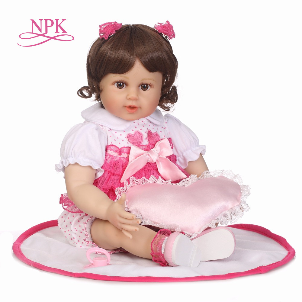 NPK New cheap 22 adora baby doll reborn lifelike live baby girl child doll kid silicone girl toys for children gifts baby girl child baby girl gift children bicycle bike page 1