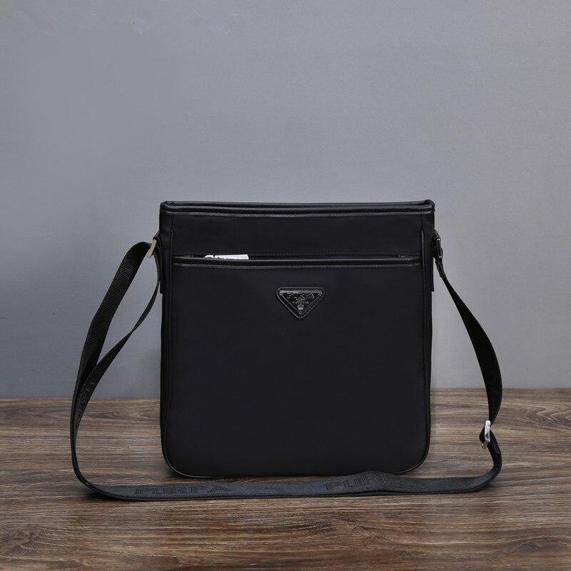 Pulapai satchel men's bag fashion single shoulder bag men's and women's universal leisure bag nylon Oxford waterproof cloth bag-in Crossbody Bags from Luggage & Bags    1