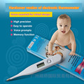 Цифровой Lquid Crystal Display Взрослого Ребенка Электронный Термометр Семья Важно Точный Тест Термометр Baby Care S201H