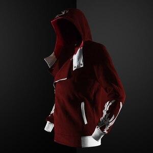 Image 5 - ZOGAA Gothic Hoodie streetwear 2019 ใหม่ hoodies ผู้ชาย Casual แฟชั่นสีดำ hoodie 5 สีพลัสขนาด S 4XL Assassin Men hoodies