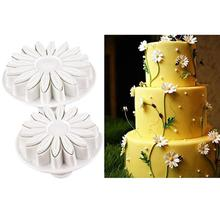 33pcs/set Sugarcraft Cake Decorating Fondant Plunger Cutters Cake Tools