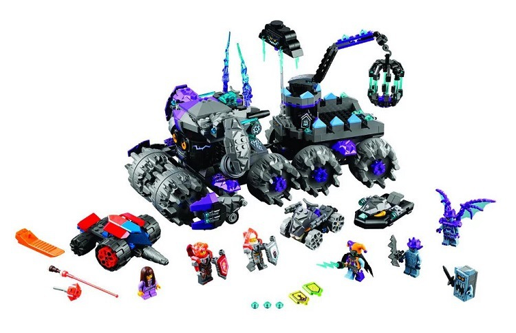 ФОТО 2017 NEW 10597 Bela Nexus Knights sets Jestro's Headquarter compatible action figures knights bricks blocks toys child boy gifts