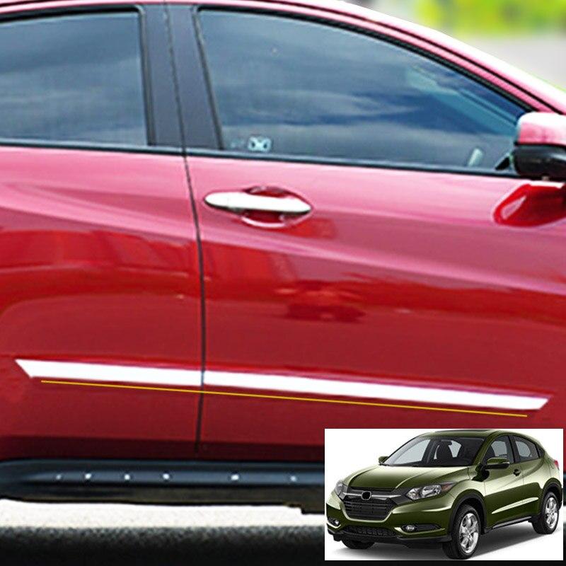 Stainless Door Stop Rust protector cover 4pcs For Honda HR-V HRV 2016 2017 2018