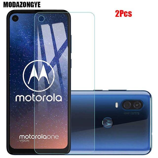 2 шт., Защита экрана для Motorola One Action, закаленное стекло, Motorola Moto One Action OneAction, защитное стекло, пленка 6,3 дюйма