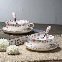 150 Ml Demitasse China Porcelain Coffee Tea Sets For Teatime Teacup Elegant Ladies Favorite Mother Gift