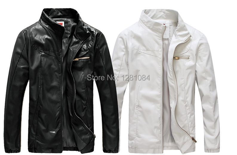 Popular White Leather Jackets for Men-Buy Cheap White Leather ...