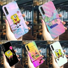 SpongeBob SquarePants Phone Case For Huawei Honor Nova 3i Cover 6A 7A Pro 7X 7C 8C/8 9 10 Lite Play Y6 Y7 Prime Y9 3/4