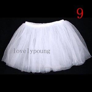 Дешевые юбка-пачка, юбка для девочки в акционной цене, девушки юбка - Цвет: white