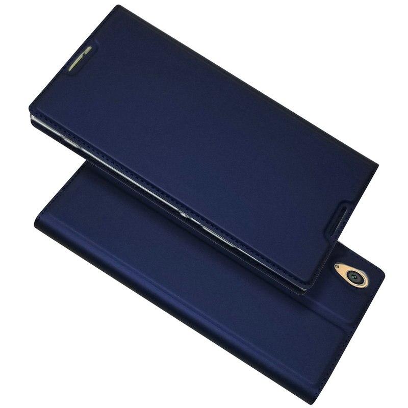 Para Sony Xperia XA2 más XA2 Ultra cartera funda de teléfono para Sony Xperia XA1 más XA1 Ultra cuero del tirón de la piel fundas>