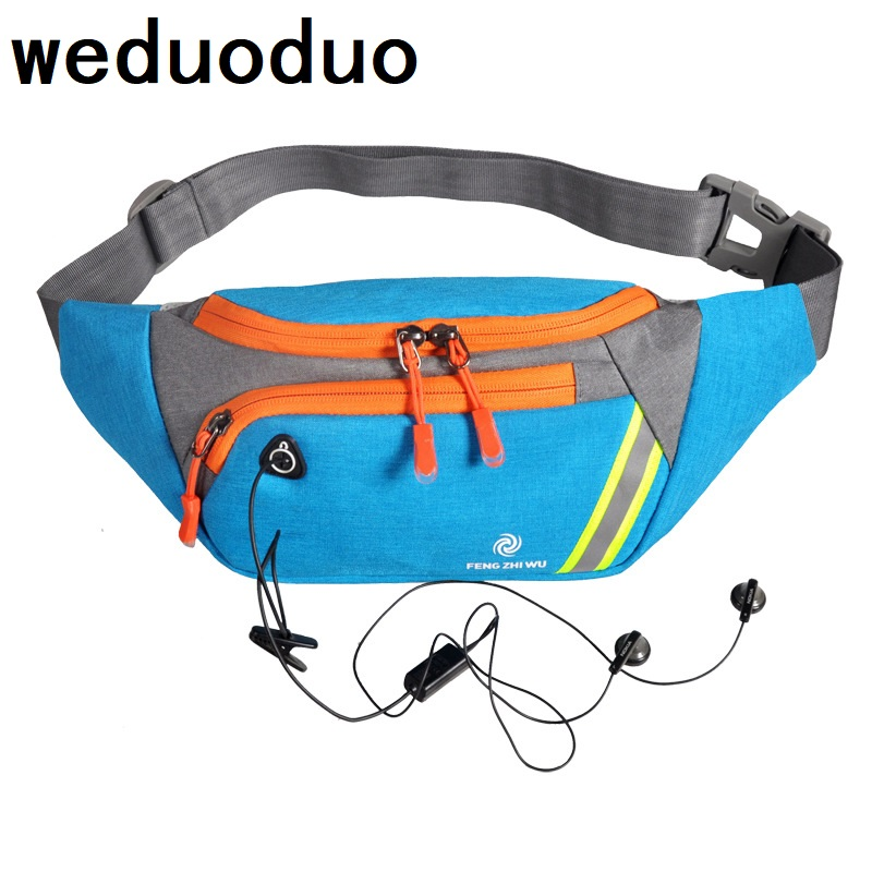 Weduoduo waist bag for men fashion waist pack purse phone belt bag women travel waist bag case for mobile phone bum hip bag phone bag for men phone pouch belt clip pu leather mobile phone bag waist bag fashion belt clip bag for 4 7 6 3 inch phone