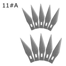 10 Pcs One Lot 11 Wood Carving Knife Blade Replacement Surgical Scalpel Blade Engraving Craft Sculpture