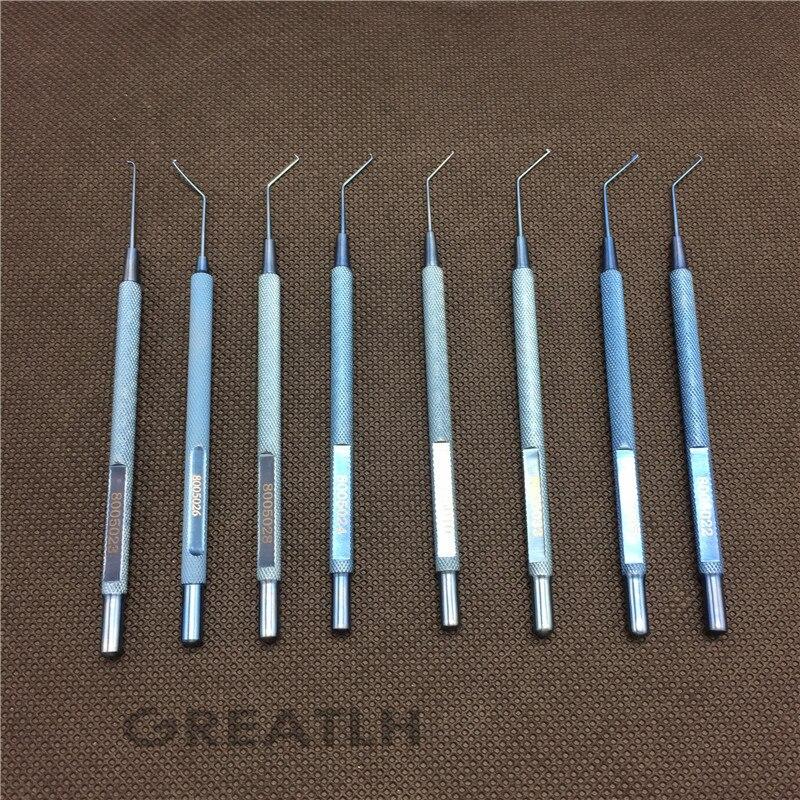 8 Types Best Titanium Akahoshi Nucleus Manipulator ophthalmic eye surgical instruments