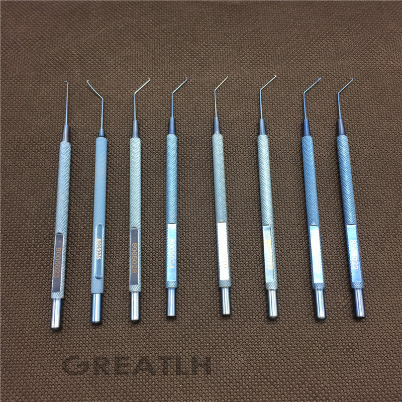 8 Types Best Titanium Akahoshi Nucleus Manipulator ophthalmic eye surgical instruments best titanium akahoshi capsulorhexis cross action forceps ophthalmic eye instruments