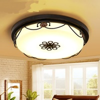 American style LED ceiling lamp living room bedroom kitchen children's room  European style lights LO7215|ceiling lamp|lights style|led ceiling lamp -