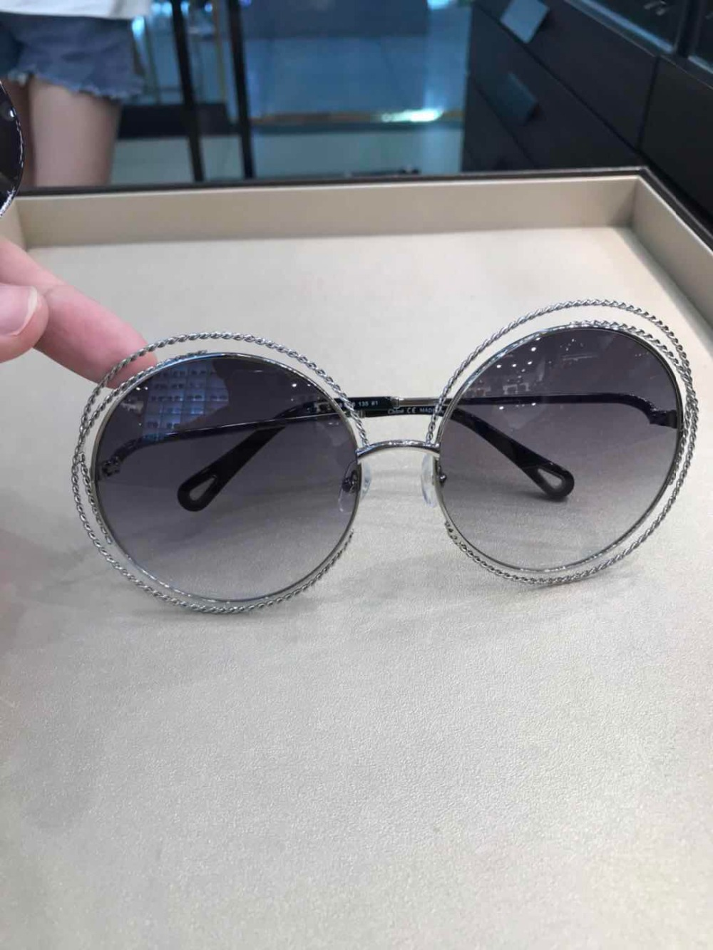 Designer 2018 Runway Frauen Luxus Marke Gläser Sonnenbrille Für Y0731 Carter PPrXq