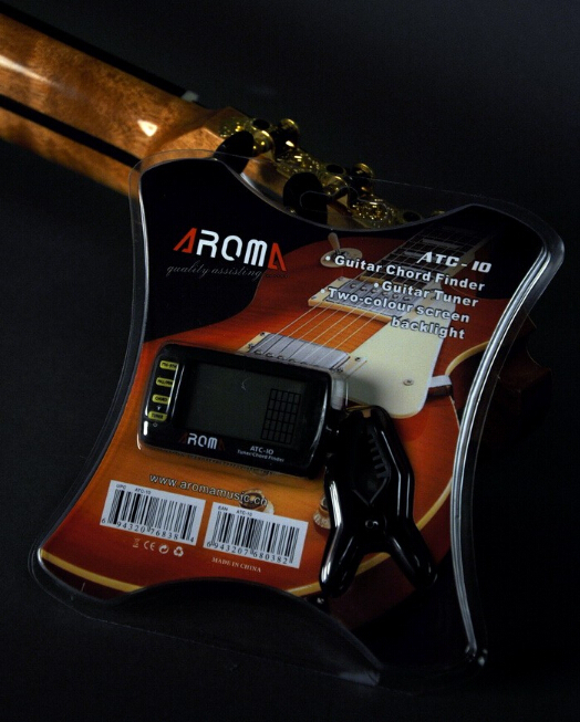 New digital chromatic guitar viola bass mandolin ukulele clip tuner ...