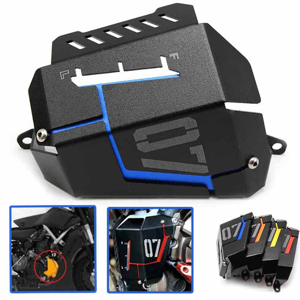 Motorcycle Radiator Grille Guard Cover Coolant Tank Shielding Cover For Yamaha MT 07 FZ 07 MT FZ 07 MT07 FZ07 2014 2015 2016 in Covers Ornamental Mouldings from Automobiles Motorcycles