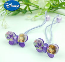 2pcs/lot Childrens Doll Accessories Sophia Princess Hair Strap Elastic Rope Resin Cartoon Cute Creative Gifts