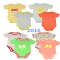 2016 original corpo clothing macacão de manga curta bebê bodysuit infantil do bebê da menina do menino roupas de bebe bodysuit verão dos desenhos animados