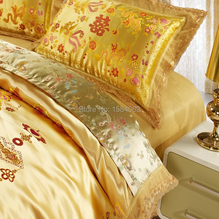 Bedspread Cover Picture More Detailed Picture About Luxury - Chinese dragon comforter set