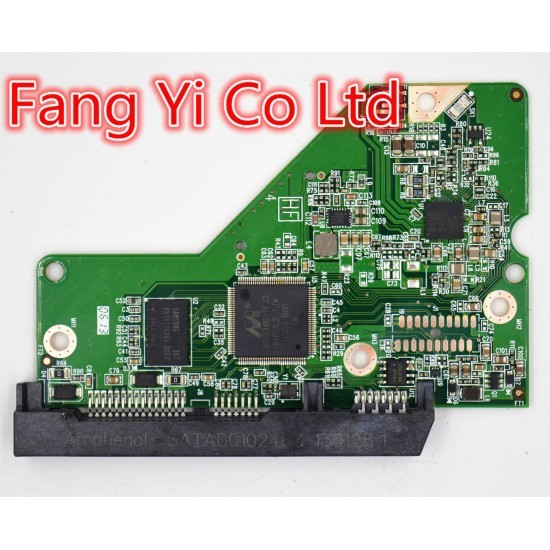Free shipping HDD PCB FOR Western Digital/ 2060-771824-008 REV P1 ,2060-771824-008 REV A ,771824-608 /WD10EZEX,WD5000AZRX