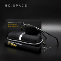 HD.SPACE Polarized Sunglasses for men Driving Sports Brand designer UV400 Sun glasses gafas oculos de sol masculino