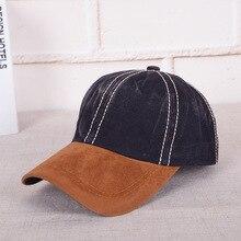 Chapéus Masculinos Senhora Da Forma Concisa Lavagem Fazer Usado Cowboy boné  de Beisebol Chapéu Língua de eabae9df2d4