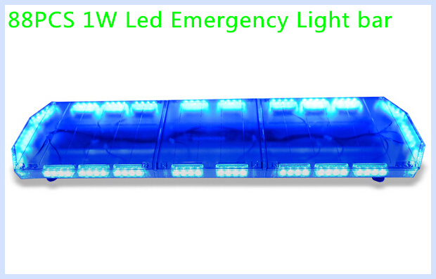 Higher star 120cm 88w led car emergency lightbarwarning lights higher star 120cm 88w led car emergency lightbarwarning lights for policeambulancefire truckwaterproof in car light assembly from automobiles aloadofball Image collections