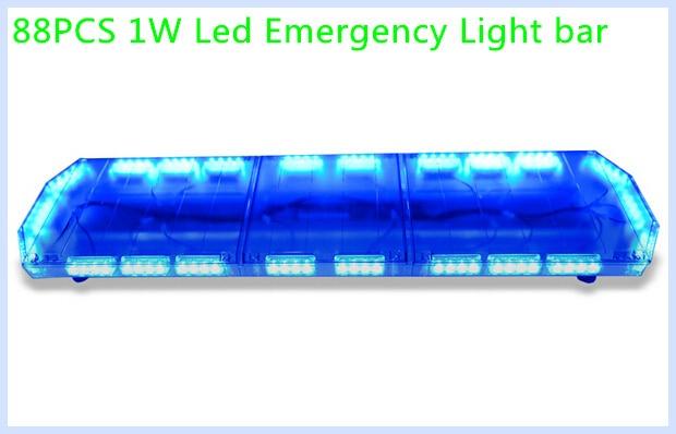Higher star 120cm 88w led car emergency lightbarwarning lights for higher star 120cm 88w led car emergency lightbarwarning lights for policeambulance aloadofball Choice Image